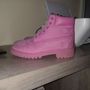 Girls Timberland boots size 1 and 1/2